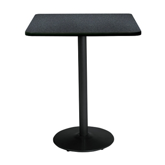 "Bar Height Square Table with Black Base - 30""W x 30""D, 44708"