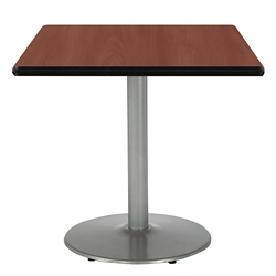 """Square Table with Silver Base - 42""""W x 42""""D, 44715"""