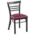 Ladder Back Cafe Chair, 44724