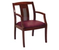 Slat Back Chair with Wood Frame, 55581