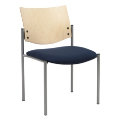 Armless Stackable Guest Chair, 76018