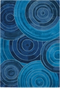 kathy ireland by Nourison Circle Print Area Rug - 8'W x 10.5'D, 82193