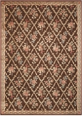 "kathy ireland by Nourison Floral Area Rug 7'9""W x 10'10""D, 82225"