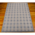 "kathy ireland by Nourison Grid Pattern Area Rug 5'3""W x 7'5""D, 82218"