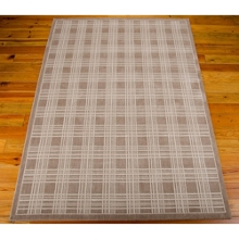 "kathy ireland by Nourison Grid Pattern Area Rug 9'3""W x 12'9""D, 82219"