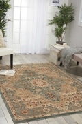 """kathy ireland by Nourison Traditional Persian Style Area Rug 5'3""""W x 7'4""""D, 82234"""