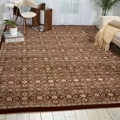 "kathy ireland by Nourison Medallion Area Rug 9'10""W x 13'2""D, 91537"