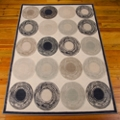 """kathy ireland by Nourison Circle Pattern Area Rug 7'9""""W x 9'9""""D, 82220"""