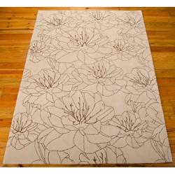 "kathy ireland by Nourison Wildflower Area Rug 8'W x 10'6""D, 82223"