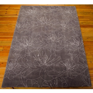"kathy ireland by Nourison Wildflower Area Rug 5'W x 7'6""D, 82222"