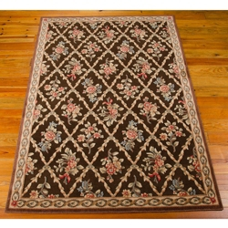 """kathy ireland by Nourison Floral Area Rug 5'3""""W x 7'5""""D, 82224"""
