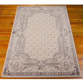 "kathy ireland by Nourison Ornate Border Area Rug 5'3""W x 7'5""D, 82226"