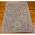 "kathy ireland by Nourison Ornate Circle Pattern Area Rug 5'3""W x 7'5""D, 82228"