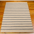 "kathy ireland by Nourison Striped Jute Area Rug 5'W x 7'6""D, 82246"