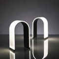 Arch Shaped LED Table Lamp - Warm Tone Light, 87593