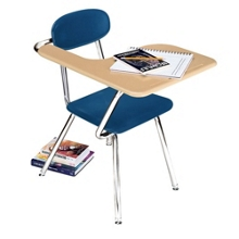 Student Chair Desk with Right Tablet Arm, 13803