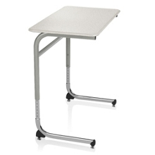 ADA Adjustable Height Cantilever Hard Top Desk , 14041