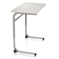 ADA Adjustable Height Cantilever Hard Top Desk , 14041