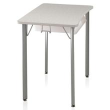"Four-Leg Laminate Top Desk - 25""H, 14044"