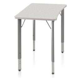 ADA Adjustable Height Four-Leg Hard Plastic Top Desk, 14051