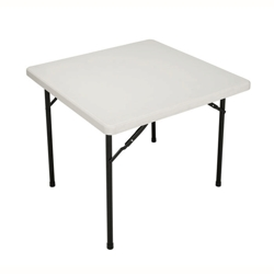 """Lightweight Square Folding Table - 36"""", 41549"""