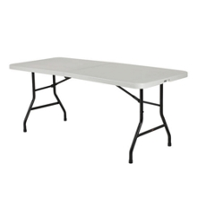 "Lightweight Bi-Fold Table - 72"" x 30"", 41551"