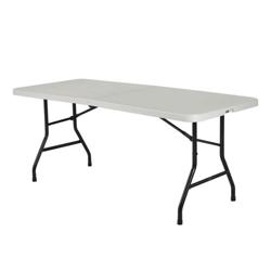 "Lightweight Bi-Fold Table - 72"" x 30"", 41551"