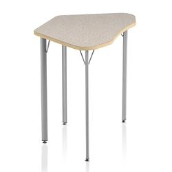 "Laminate Top Trapezoid Student Desk - 25""H, 41847"