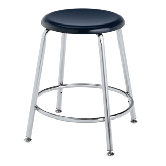 """Student Stool with Hard Plastic Seat - 18""""H, 50029"""