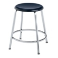 "Student Stool with Hard Plastic Seat - 18""H, 50029"