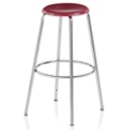 "Student Stool with Hard Plastic Seat - 24""H, 50030"
