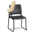 Right Flip Up Tablet Arm Chair, 51496