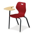 Right Fixed Tablet Arm Chair, 51498