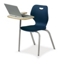 Right Fixed Laptop Tablet Arm Chair, 51500