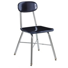 "Student Chair for Second to Fourth Grade - 16""H Seat, 57068"