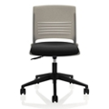 Armless Task Chair with Fabric Seat, 57142
