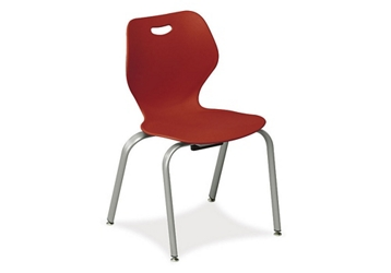 "4 Leg Stack Chair 18""H, 51609"