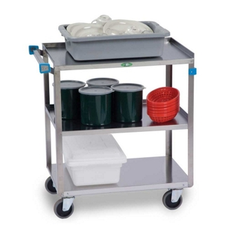 "Lakeside 27""x18"" Stainless Steel Utility Cart, 31795"