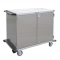 """Lakeside 48""""x54"""" Stainless Steel Closed Case Cart, 31822"""