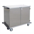 """Lakeside 43""""x39"""" Stainless Steel Closed Case Cart, 31824"""