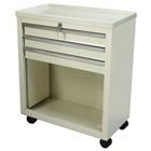 Lakeside Three Drawer Bedside Cart, 31827