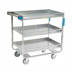 """Lakeside 33""""x21"""" Utility Cart with Guard Rails and Supports 700 lbs, 31801"""