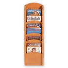 Wall-Mounted Magazine Rack with 7 Pockets, 33336