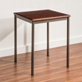 "Veneer Lamp Table - 23"" x 21"", 26333"