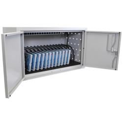 "Locking 16 Tablet Charging Cabinet - 13""H, 60031"