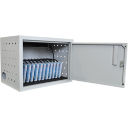 """Locking 12 Tablet Charging Cabinet with USB Outlet - 14""""H   , 60030"""