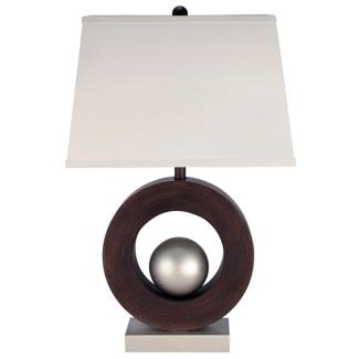 Wood Base Table Lamp, 82680