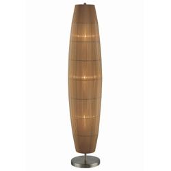 Floor Lamp with Organza Shade, 82672