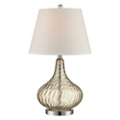 Glass Table Lamp with Shade, 87271