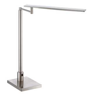Polished Steel LED Desk Lamp, 87276